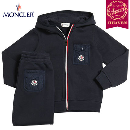 17 AW ** MONCLER 8-10 years old _ set _ Navy