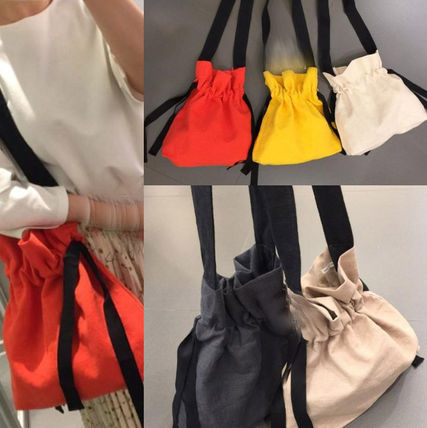 Trend BAG linen material easy and cute Eco Bag 5 color