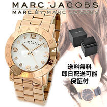 Marc by Marc Jacobs Metal Round Quartz Watches Elegant Style Analog Watches