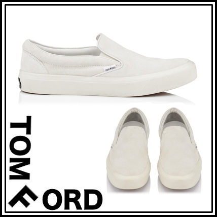 SALE TOM FORD / Ford suede Slip-on