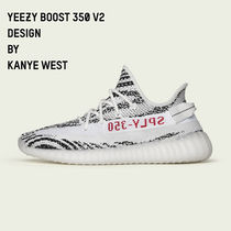 adidas YEEZY Zebra Patterns Street Style Collaboration Sneakers