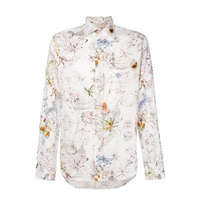 And ETRO floral print shirt