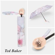 TED BAKER Flower Patterns Elegant Style Umbrellas & Rain Goods