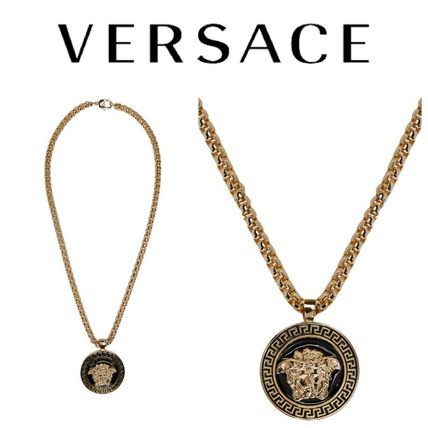 VERSUS Versace Medusa chain necklace