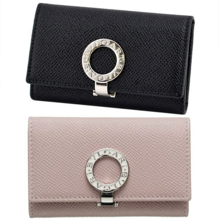 Bvlgari Unisex Plain Leather Keychains & Bag Charms