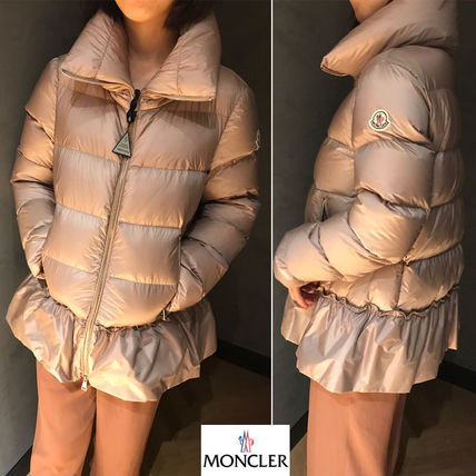 ... MONCLER Down Jackets Short Plain Down Jackets ...