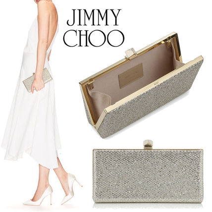 Jimmy Choo Chain Party Style Clutches