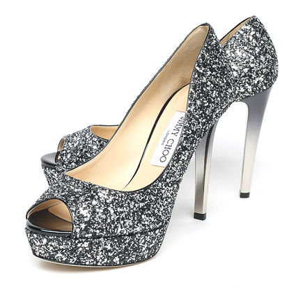 BIG size GLITTER pumps SI