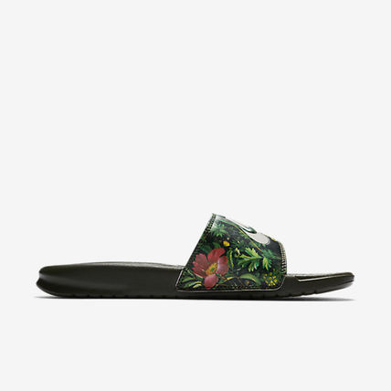 876c89271bcc ... Nike Flat Tropical Patterns Casual Style Street Style Shower Shoes 9 ...