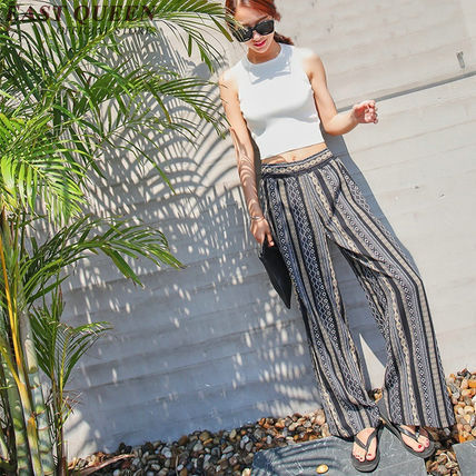 Bohemian festivals and event wide pants