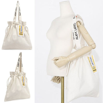Bag black label Ivory Eco bag