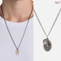 Ron Herman Unisex Plain Silver Necklaces & Chokers