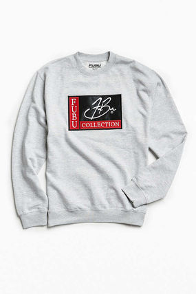 Sweat Street Style Collaboration Long Sleeves Hoodies