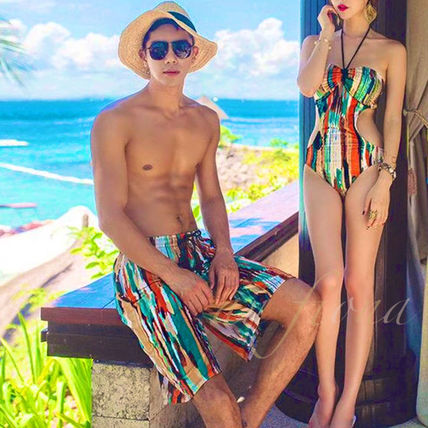 Pair design Couple Asian swimsuit MENS Ver