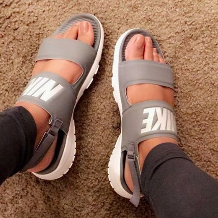 63f797a4e Nike TANJUN 2018 SS Casual Style Sport Sandals Flat Sandals by ...