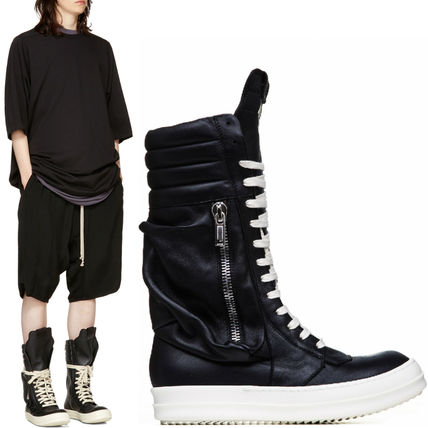 RICK OWENS 17-18 AW RO 138 CARGOBASKET BOOTS