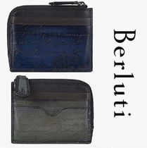 Berluti Leather Coin Cases