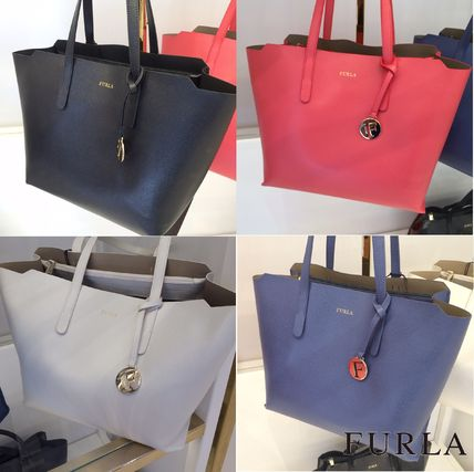 SALLY A4 possible leather tote M size