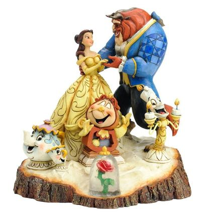 Wdcc Belle and the beast Six Character