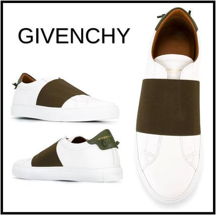 Recommended to casual sneaker White Green GIVENCHY Panel