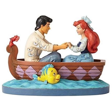 Wdcc Ariel and Prince Eric Rowboat