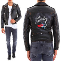 Saint Laurent 17-18 AW SLP 308 CLASSIC BOUCHE MOTORCYCLE JACKET