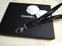 CHANEL MATELASSE Unisex Leather Necklaces & Chokers