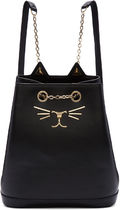 Charlotte Olympia Other Animal Patterns Leather Backpacks