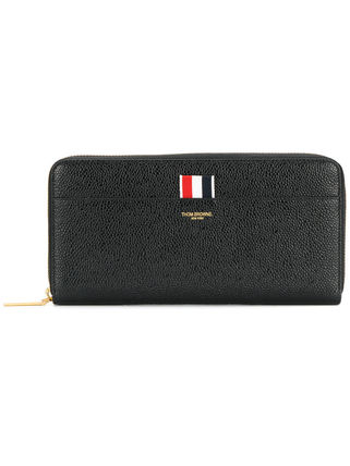 THOM BROWNE Leather Long Wallets