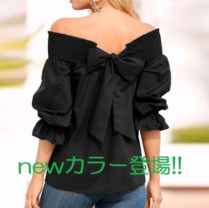 Fashionable Tops Back Conscious off the shoulder Tops
