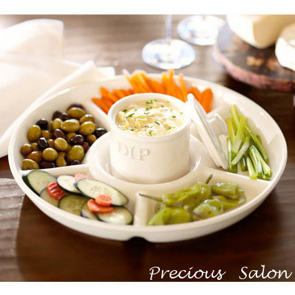 Pottery Barn Home Party Ideas Plates