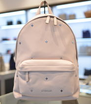 GIVENCHY Casual Style Street Style Plain Leather Backpacks