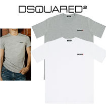 D SQUARED2 Street Style U-Neck Cotton Short Sleeves T-Shirts