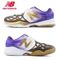 New Balance 996 Driving Shoes Faux Fur Studded Loafers & Slip-ons