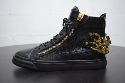 Rare model ZANOTTI GOLD CHAIN sneakers