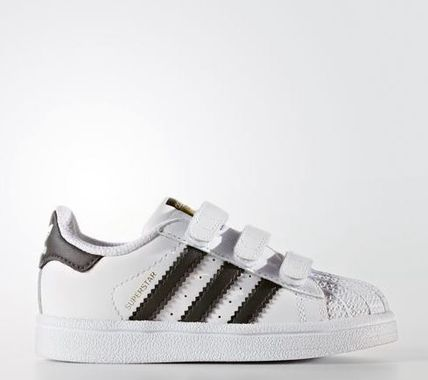 adidas SUPERSTAR Unisex Street Style Baby Girl Shoes