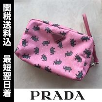 PRADA Other Animal Patterns Pouches & Cosmetic Bags