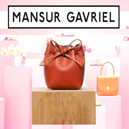 MANSUR GAVRIEL Plain Shoulder Bags