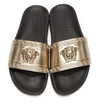 VERSACE Street Style PVC Clothing Sandals