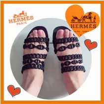 HERMES Casual Style Sandals