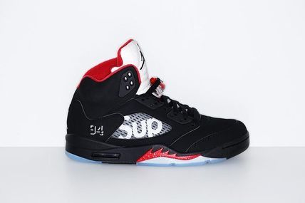 quality design ec1e9 958d3 ... Nike Sneakers AIR JORDAN 5 RETRO x SUPREME 824371-001 ...