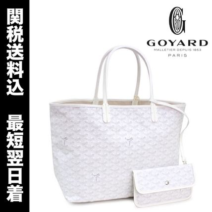 SALE luggage * GOYARD Saint Louis PM white