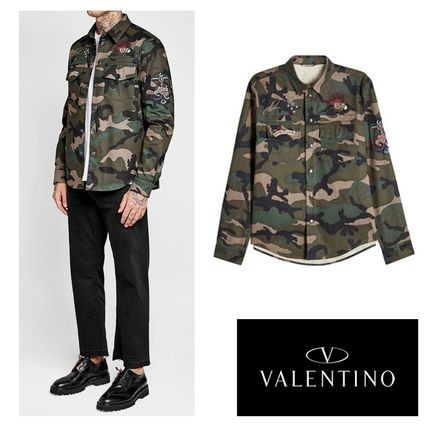 AW 2017 VALENTINO casual men's shirts.