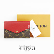 Louis Vuitton PALLAS COMPACT WALLET [London department store new item]
