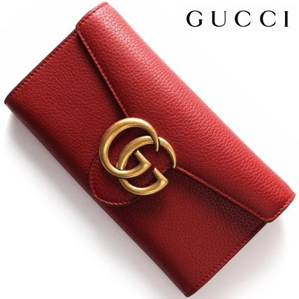 GG Marmont Continental long wallet