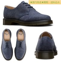 Dr Martens Plain Toe Suede Plain Oxfords