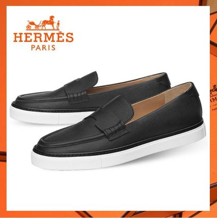 Retail store purchase Hermes Slip-on Major calfskin