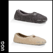 UGG Australia Casual Style Plain Slippers Slip-On Shoes