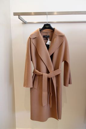 MACINA WEEKEND MAX MARA Lapel large double face coat