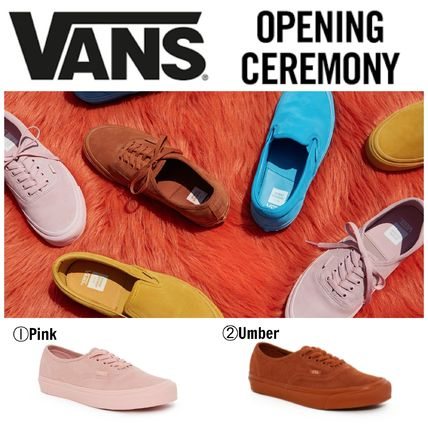 Vans x OC 17SS collaboration Suede OG Authentic LX Sneaker